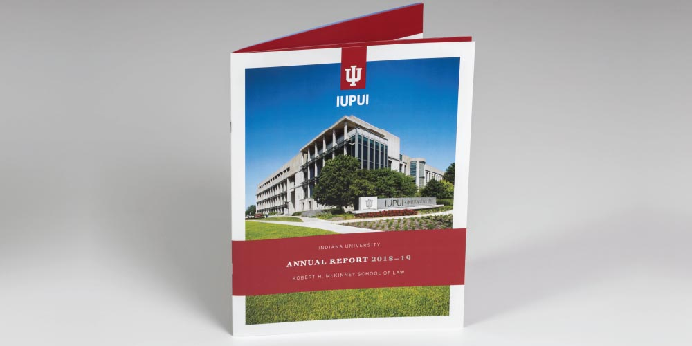 Annual report for IUPUI Robert H. McKinney School of Law